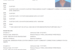 Criminal Reports Now Include Subject Photos