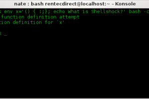What is the Shellshock Bash bug and is my data safe?