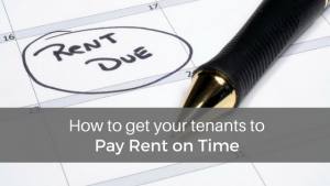 pay rent on time
