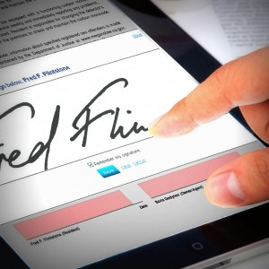 Sign leases online