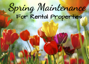 spring maintenance for rental properties
