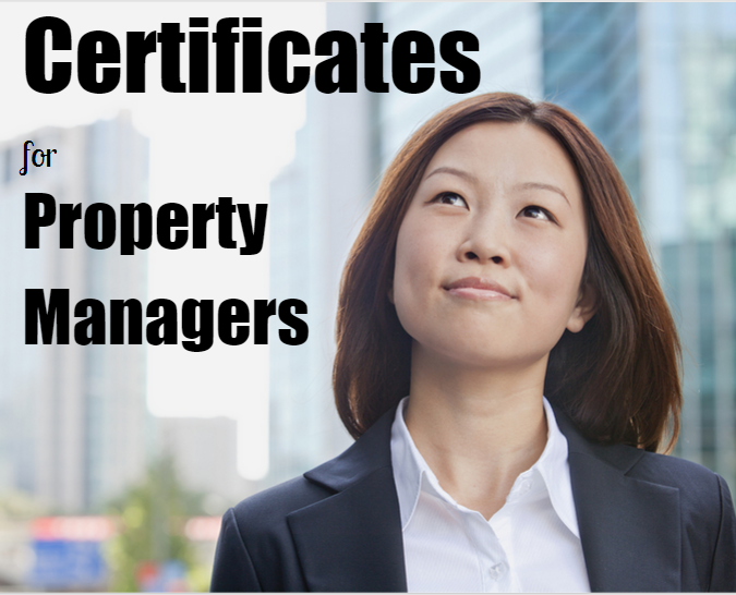 Property Management Certifications