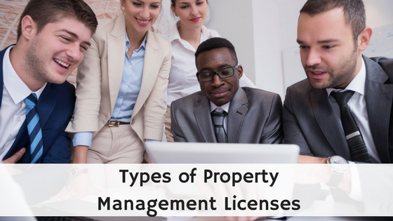 Types of Property Management Licenses