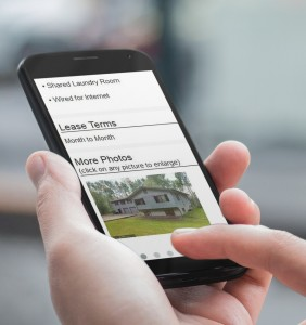 mobile friendly rental applications
