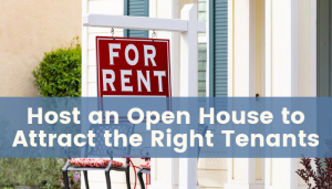 Open House to Attract Tenants