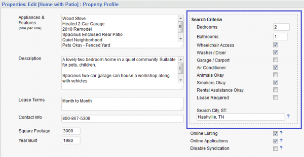 These new property descriptions make it easy to search and match tenant leads.