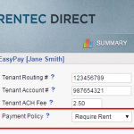 Enforce Full Rental Payments via The Tenant Portal