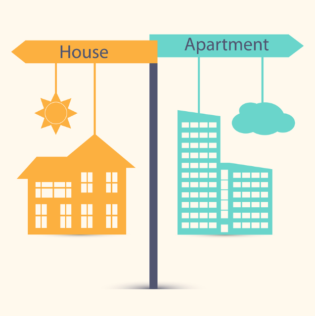 House vs. Apt.: Which Rental is Right For You – Infographic