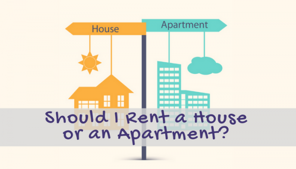 rent a house or apartment