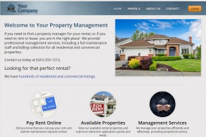 Marketing Website for Landlords and Property Managers – Video