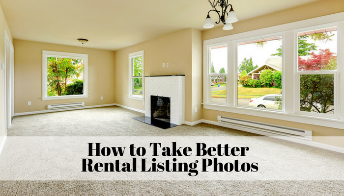 How to Take Better Rental Listing Photos