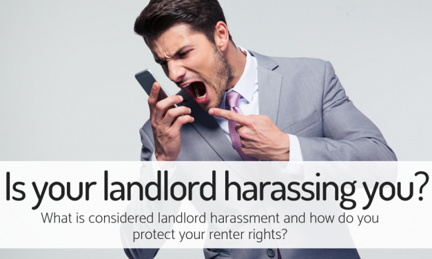 Is Your Landlord Harassing You?