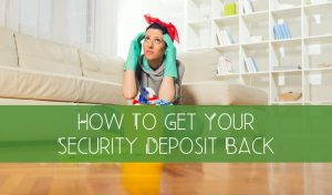 how to get security deposit back
