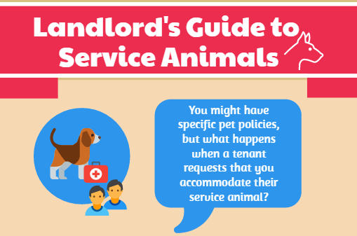 Rental Properties and Service Animals – Infographic