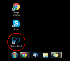 new RD icon desktop