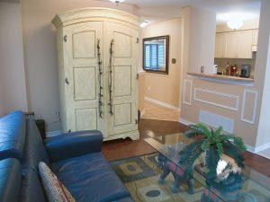 armoire as pantry