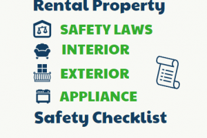 Safety Checklist For Rental Properties- Infographic