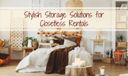 Stylish Storage Solutions for Closetless Rentals