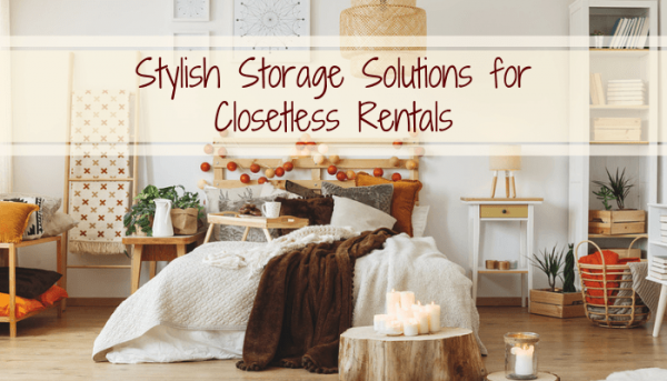 closetless storage solutions