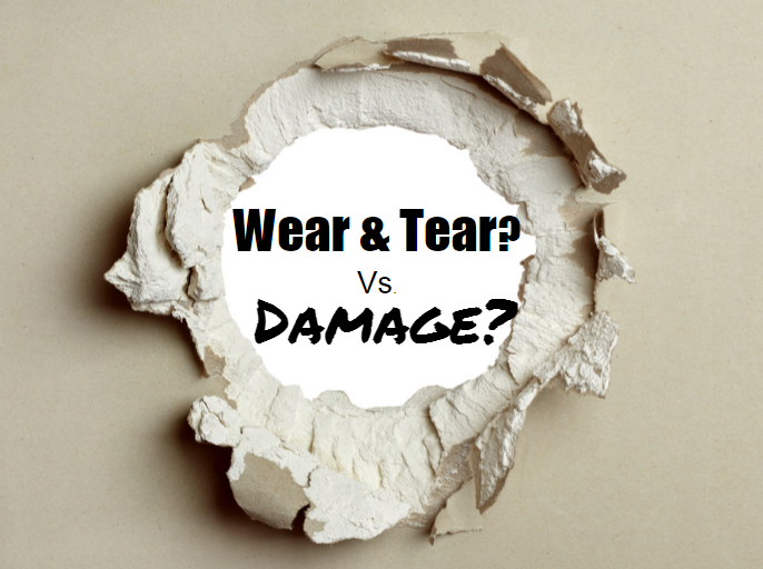What's the Difference Between Wear & Tear vs. Damage
