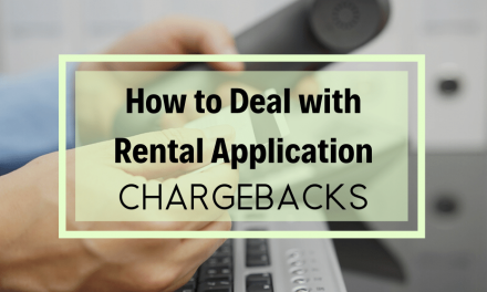 How To Deal With Rental Application Chargebacks