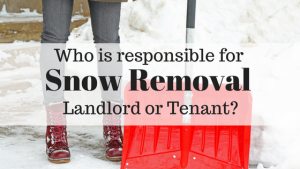 snow removal laws rentals