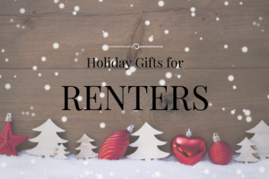 Holiday Gift Guide for Renters – Infographic