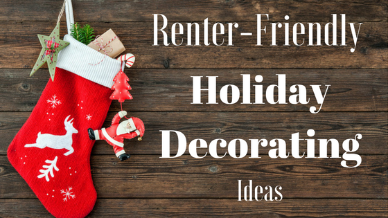 renter-friendly holiday decorating
