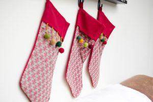 Renter faux Christmas mantel