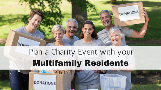 mutlifamily charity event
