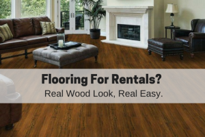 Vinyl-Plank Flooring: Durable Floors For Your Rental Property