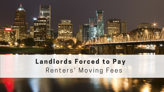 Oregon Landlords Must Pay Renters' Moving Fees