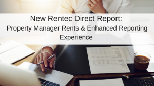 New Property Manager Report