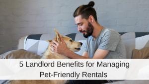 Benefits Pet-friendly rentals