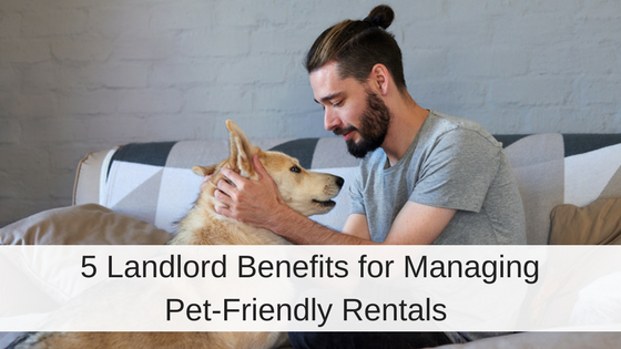 Benefits Pet-friendly rentals