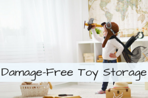 Damage-Free Toy Storage for Small Spaces and Apartment Dwellers