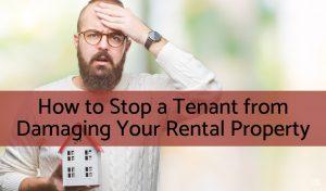 tenant damage rental