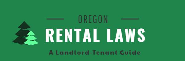 Oregon Landlord Tenant Laws Resource Guide