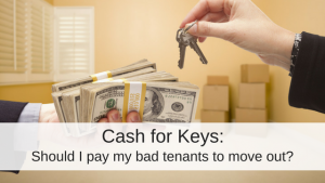 Cash for keys