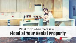 flood rental property