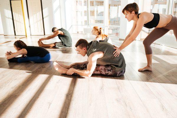 Yoga class amenity