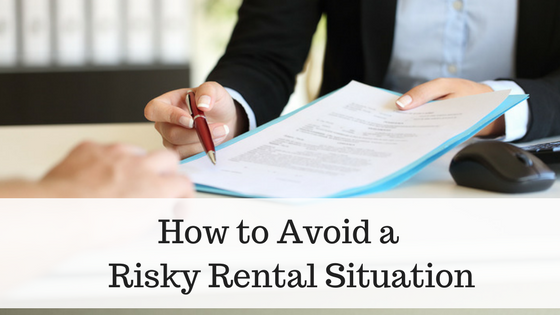 Avoid Risks When Signing a New Rental Agreement