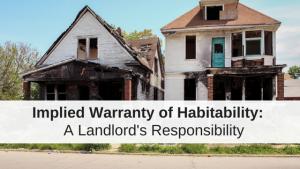 implied warranty of habitability