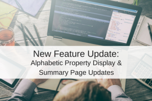 Intelligent Property Sorting and Summary Page Updates – New Feature