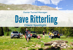 Client spotlight Dave Ritterling