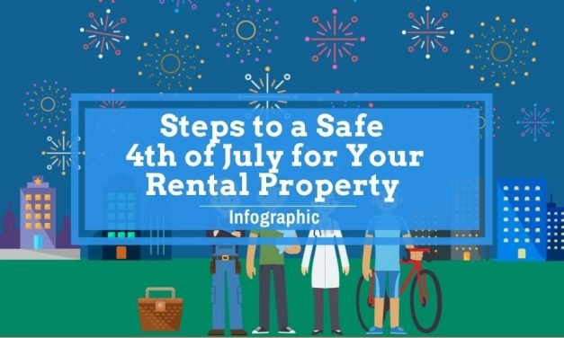 Steps to a Safe 4th of July for Your Rental Property: Infographic
