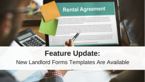 new landlords forms
