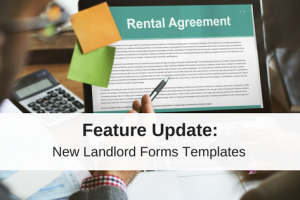 New Landlord Forms Templates Added To Your Software