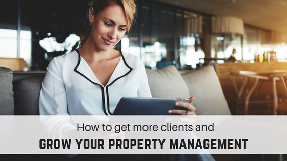 Property manager thinking about growing property management business