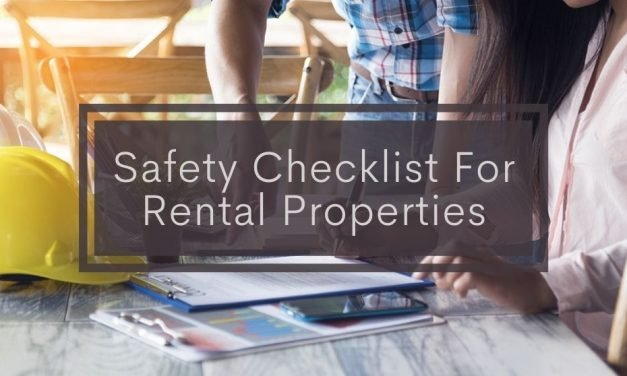 Safety Checklist For Rental Properties
